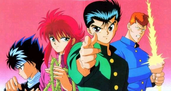 "Yu Yu Hakusho is another old school anime that didn't have ""great"" animation, but if Evangelion is half as good as Yu Yu was, I'll be a happy Otaku."
