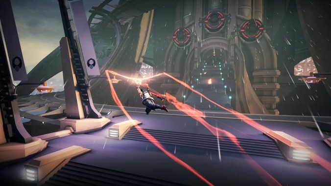 Strider gameplay