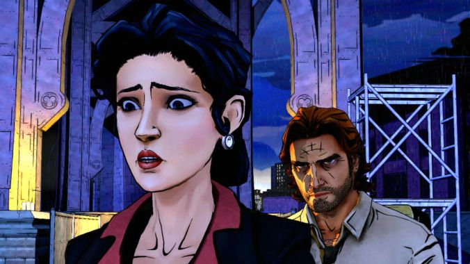 Snow White & Sheriff Bigby, a.k.a, the Big Bad Wolf